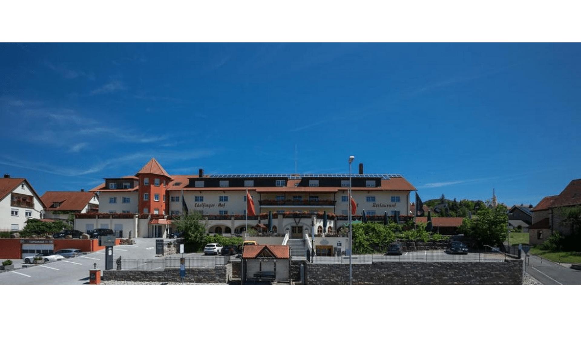 Fietsvakantie Taubertal, hotel Edelfingerhof
