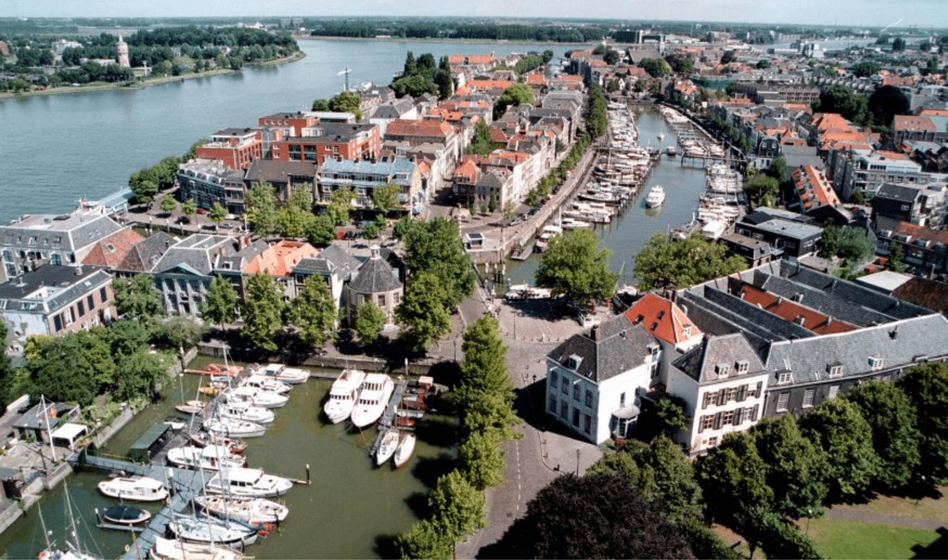 Fietsvakantie rondom Dordrecht met hotelboot Merlijn
