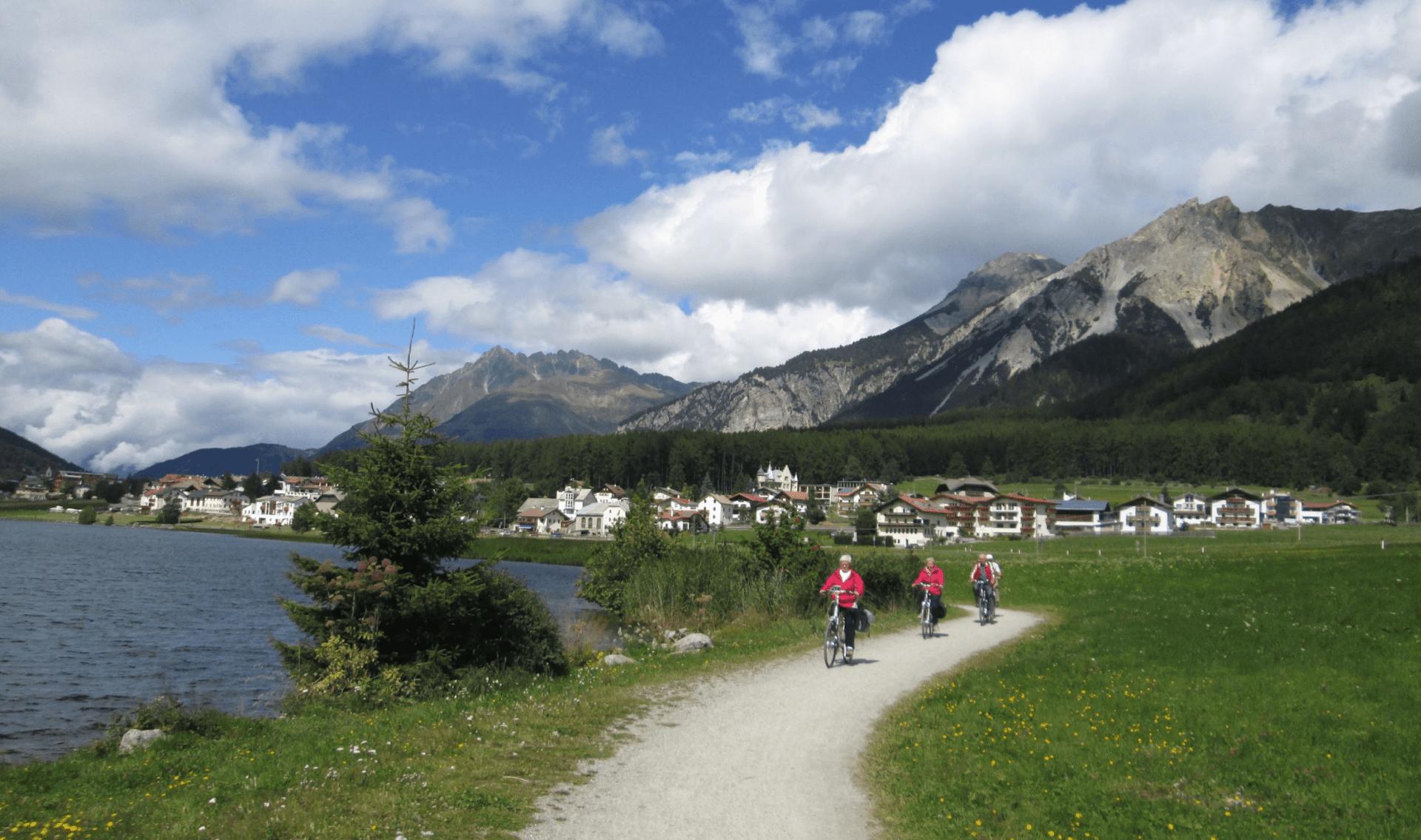 Fietsvakantie langs de Etsch/Adige (tot Arco)