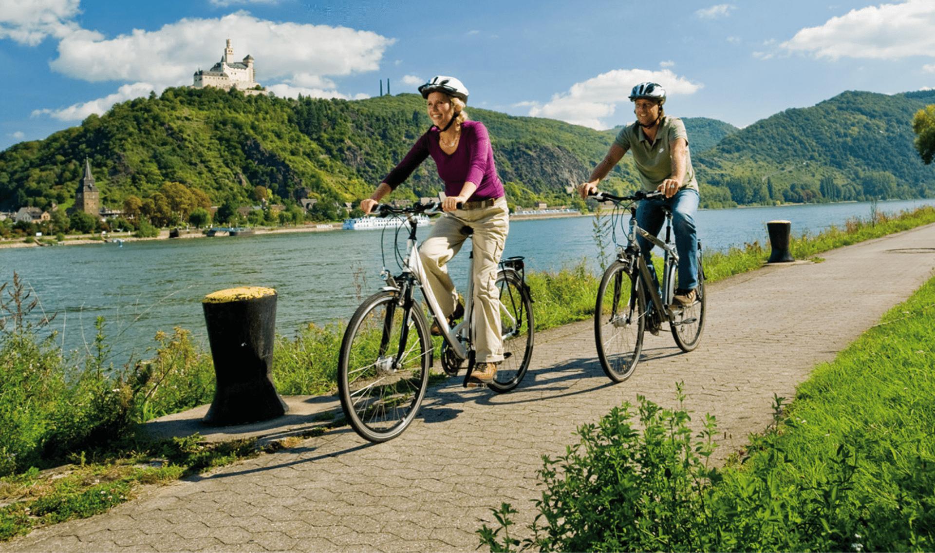 Fietsvakantie de vijf rivieren van Beieren