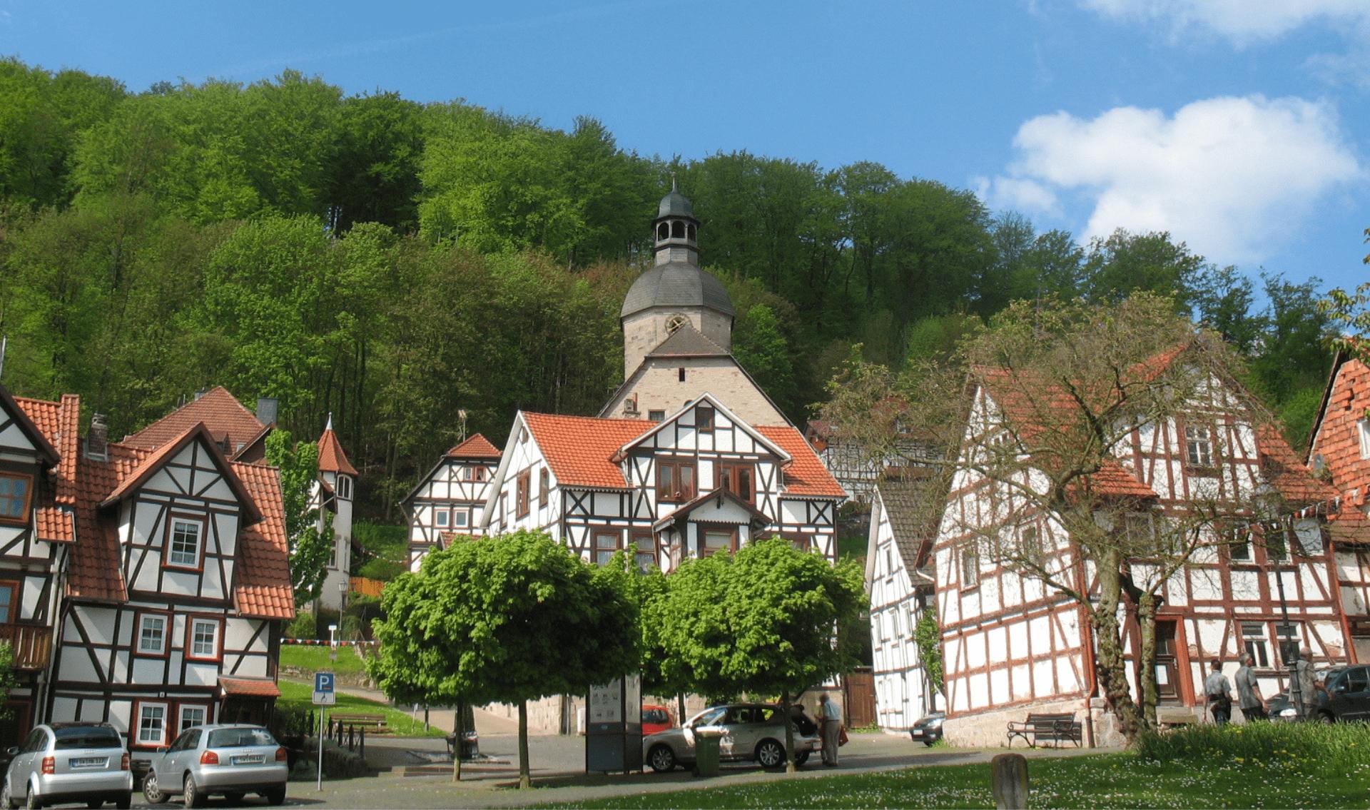 Fietsvakantie Werra en Weser
