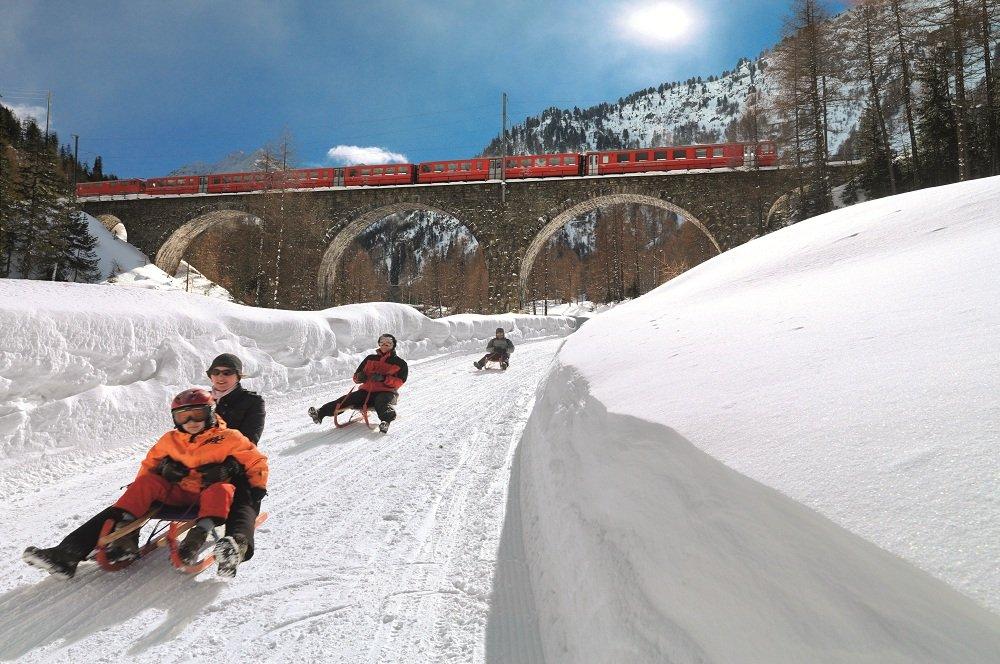 winter trein