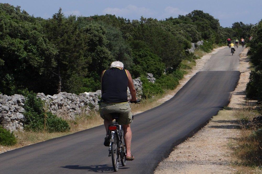 Kroatie fietsroute