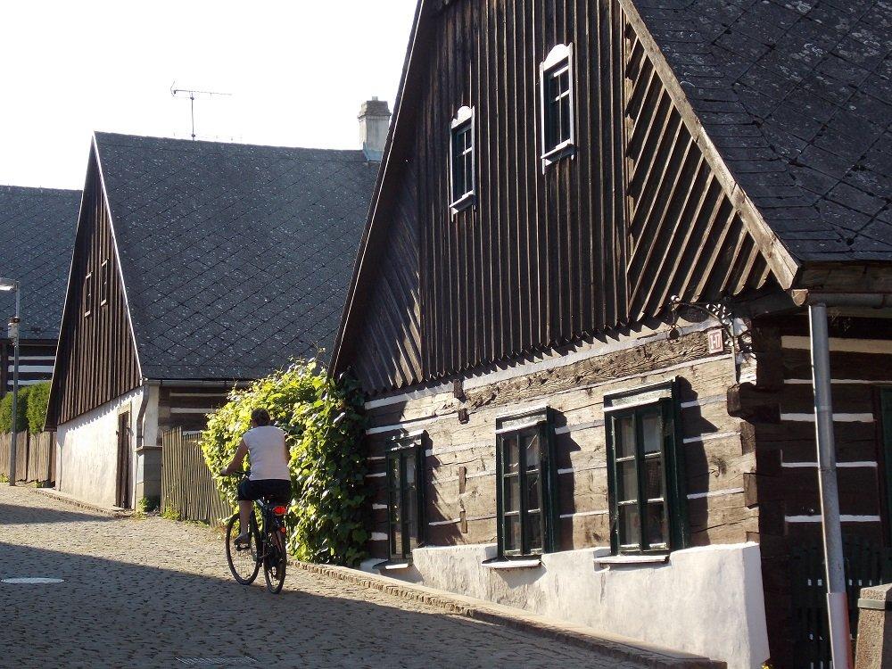 dorpje langs de elbe