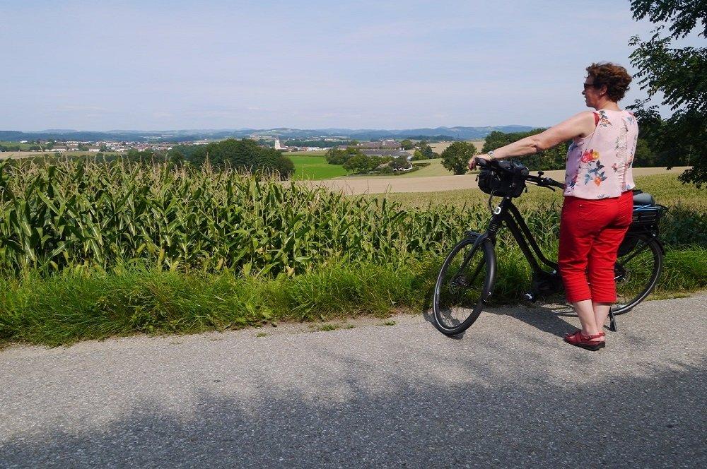 dachstein donau fietser bij mauthausen