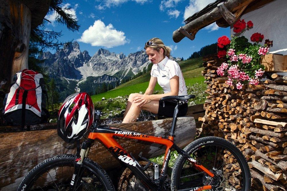fietster bergen fiets koeiensta