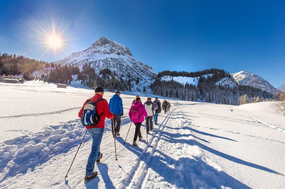 winter wandelaars