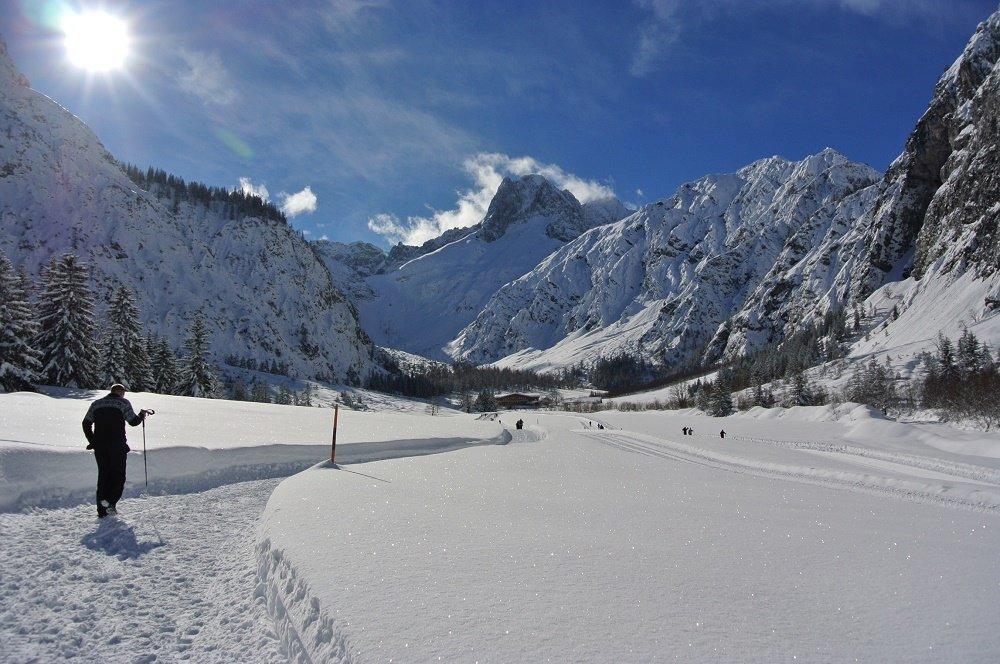 winter wandelaar
