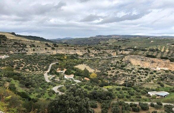 Uitzicht Andalusie