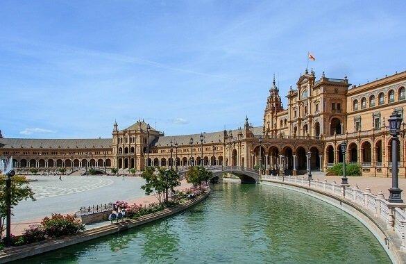 Online bestellen: Fietsvakantie Sevilla Cadiz