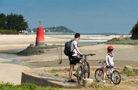 fietsers voies vertes