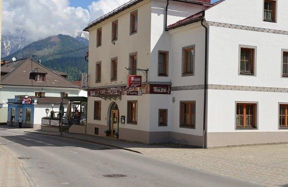 Hotel Traube buitenkant