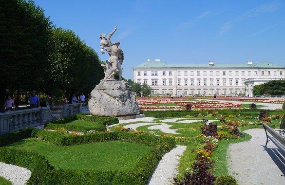 Tuin slot Mirabell Salzburg
