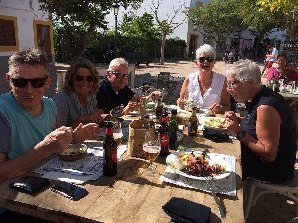 lunch Ibiza