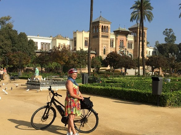 fietsers Andalusie
