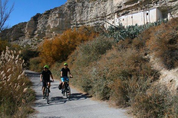 fietsreis Murcia naar Granada