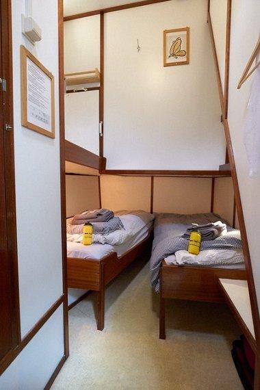 Feniks hut 2 aparte bedden