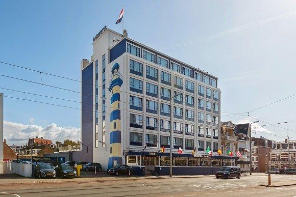 Badhotel Scheveningen voorkant voorkant