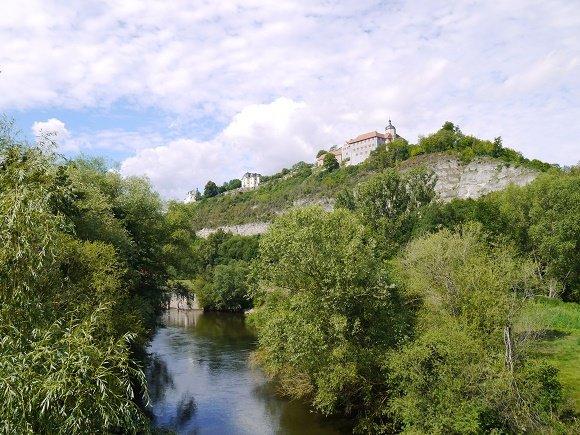 Thuringen langs de Saale