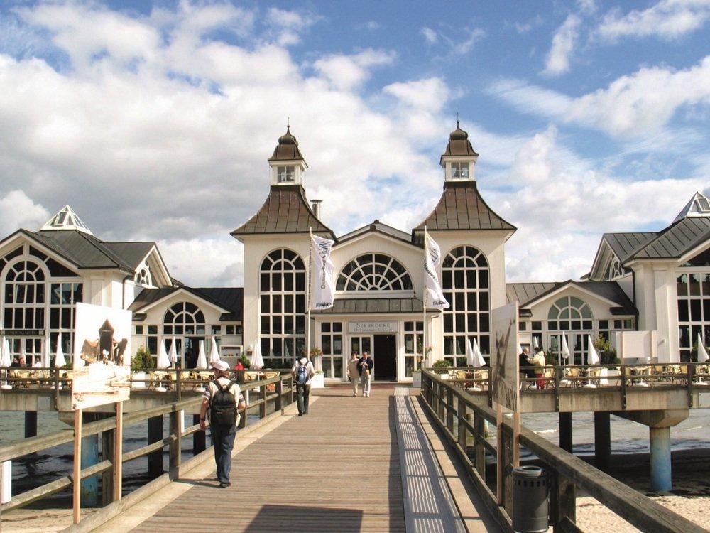 Voorzijde restaurant Seebrücke