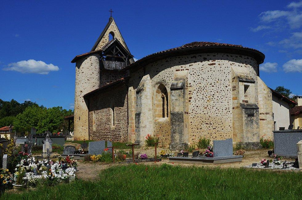 Oude kerkje begraafplaats