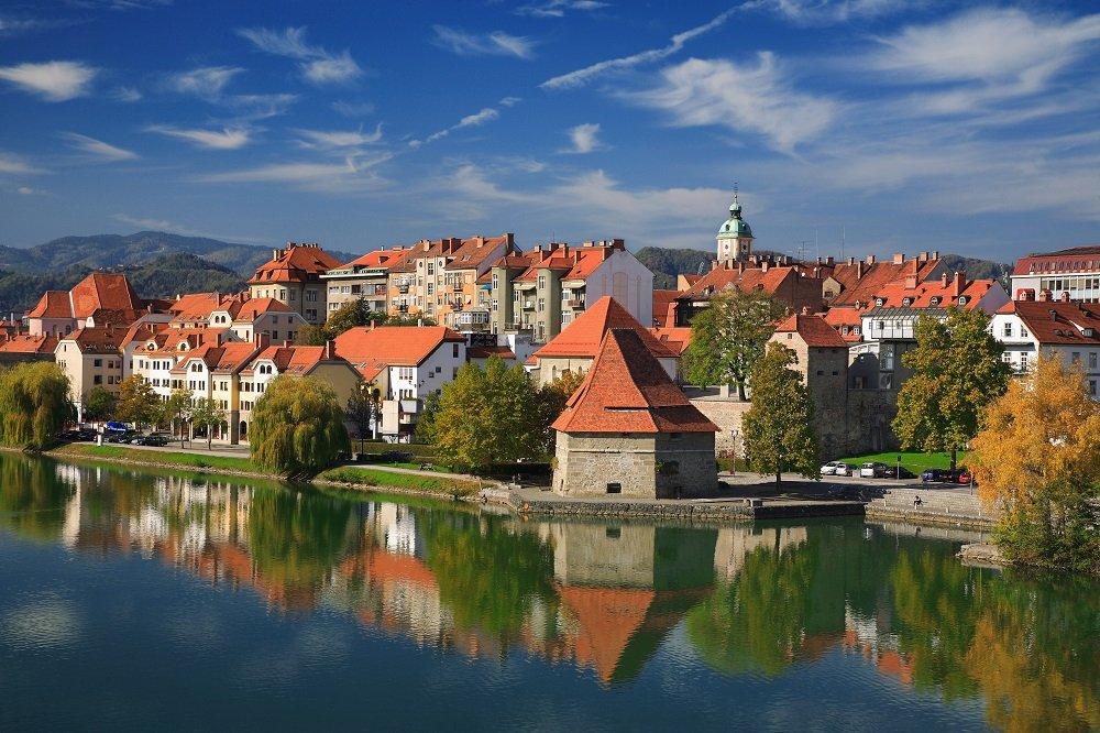 Maribor met de Drau