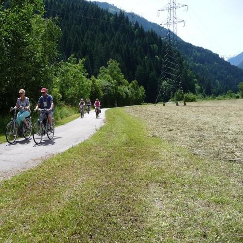 fietstocht van Greifenburg naar Möllbrücke