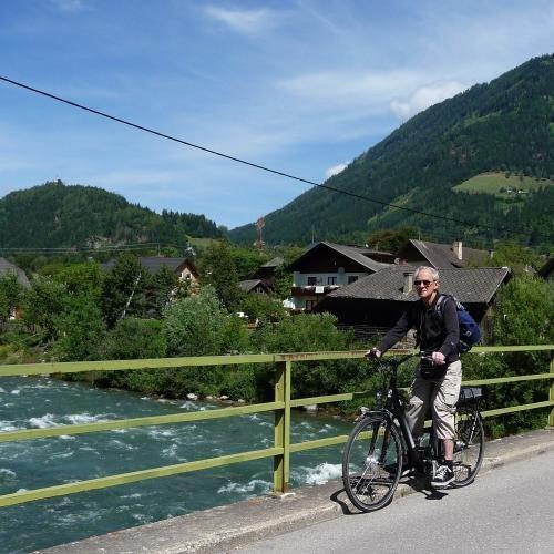 fietstocht Obervellach naar Möllbrücke