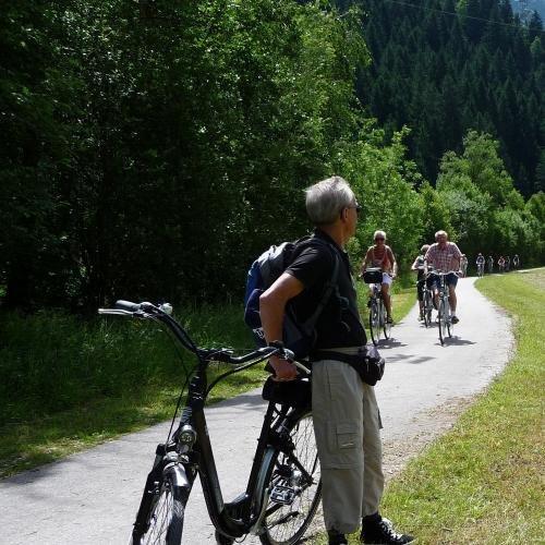 fietstocht van Winklern naar Obervellach