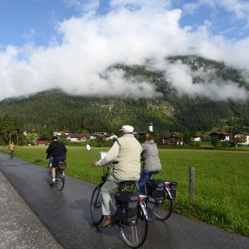 Fietstocht van Stanzach naar Steeg langs de Lech