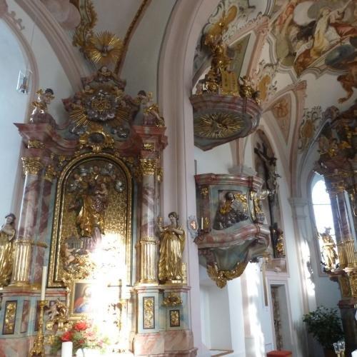 De oudste kerk  in Serfaus van heel Tirol