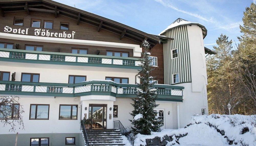 Winterfoto Hotel Föhrenhof