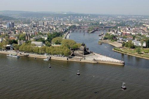 Koblenz Deutsche Eck