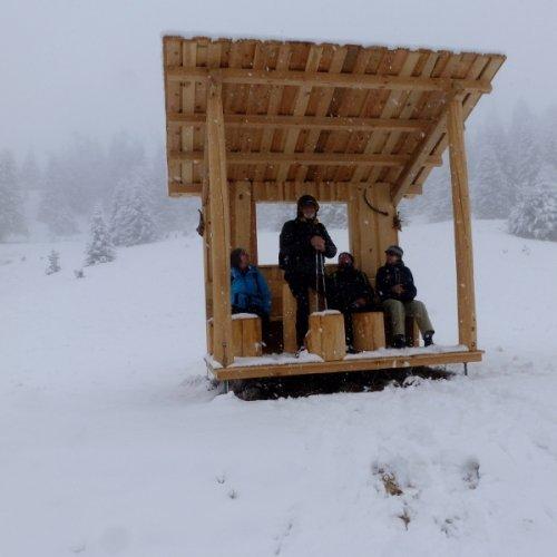 Echte Fitál sneeuw-wandelaars
