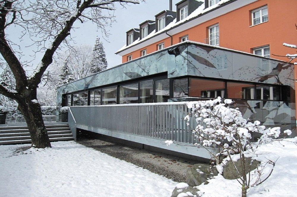Winterfoto Hotel Montfort