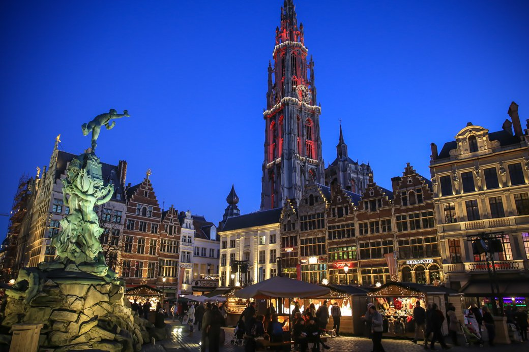 Antwerpen kerst