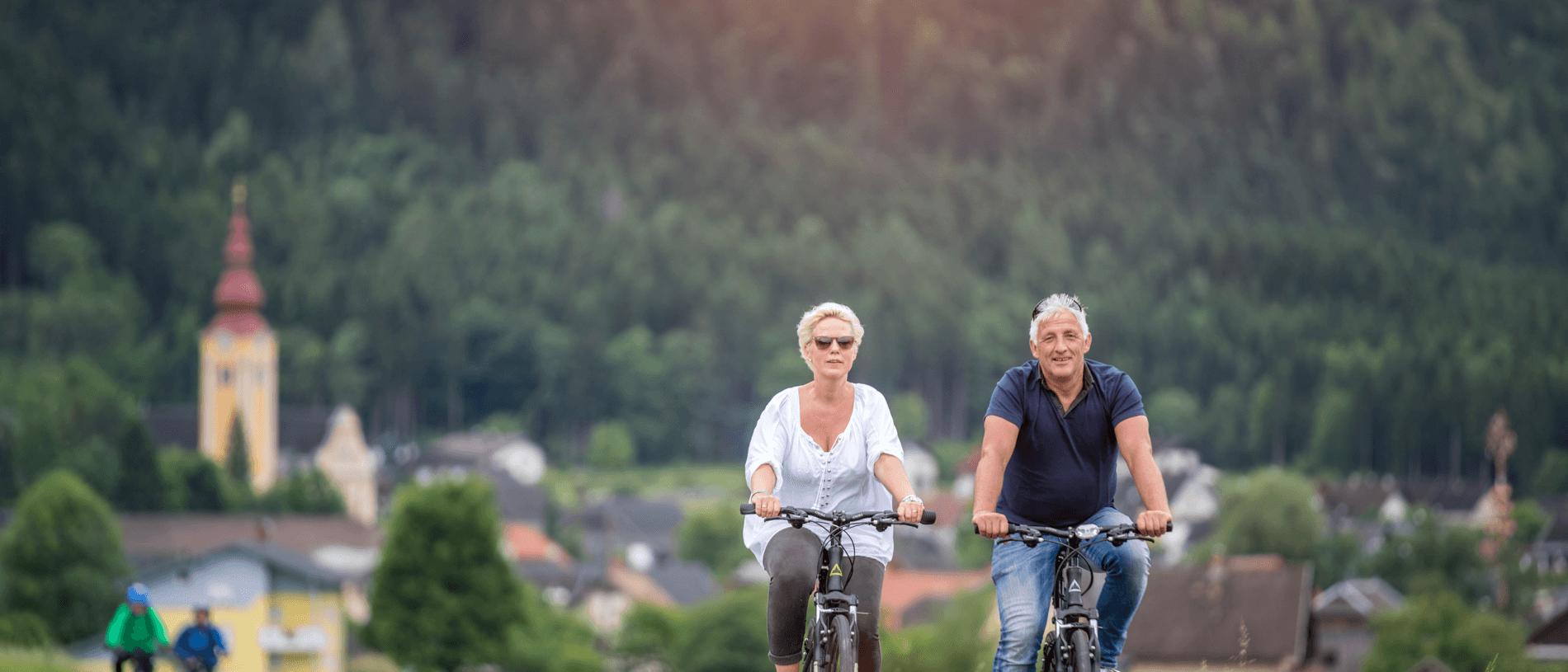 Fitál Fietsvakanties - echtpaar in Karinthië