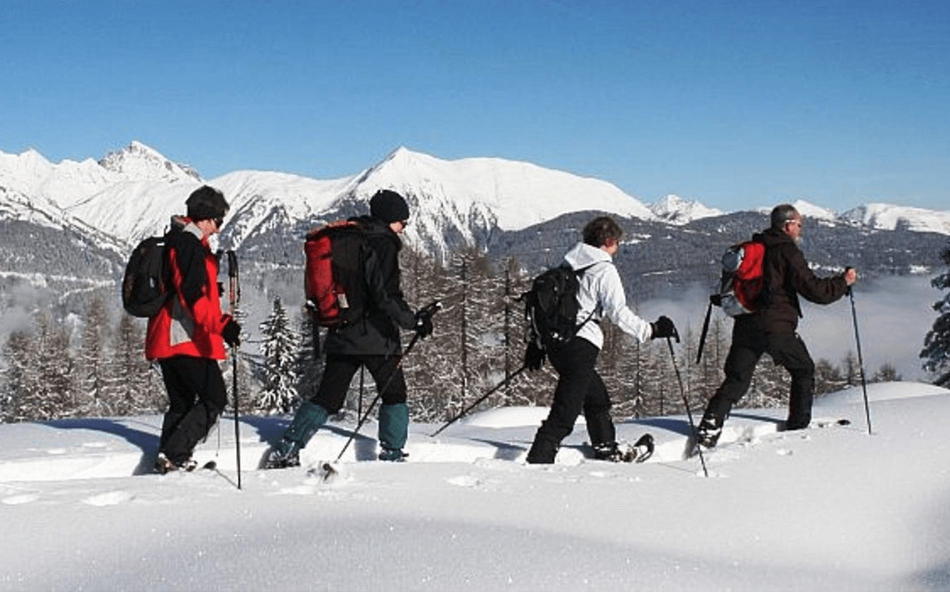 Unieke manier van wintervakantie: sneeuwschoenwandelen