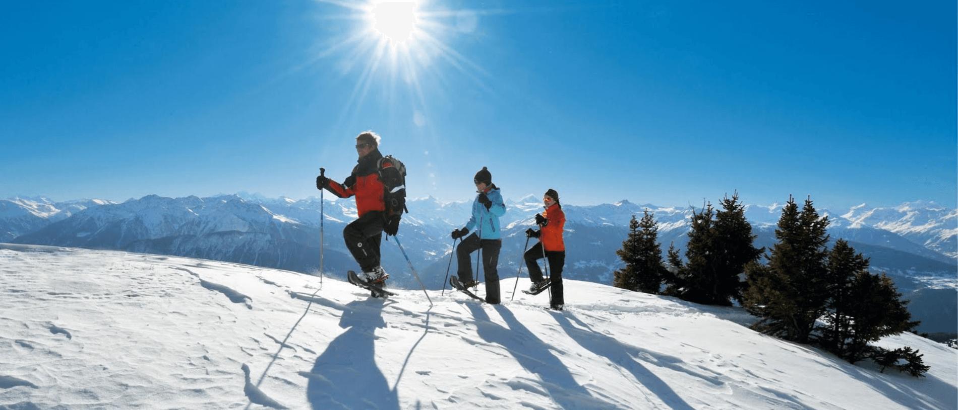 Unieke sneeuwschoenwandelingen in Oostenrijk en de Dolomieten | Fitál Vakanties