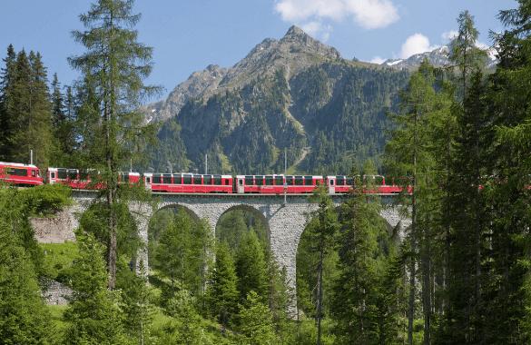 Onbegrensd Fietsen naar Rome - Glacier Express |Fitál Vakanties