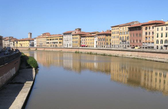Onbegrensd Fietsen naar Rome - Arno in Pisa|Fitál Vakanties