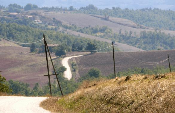 Onbegrensd Fietsen naar Rome - Toscaans landschap|Fitál Vakanties