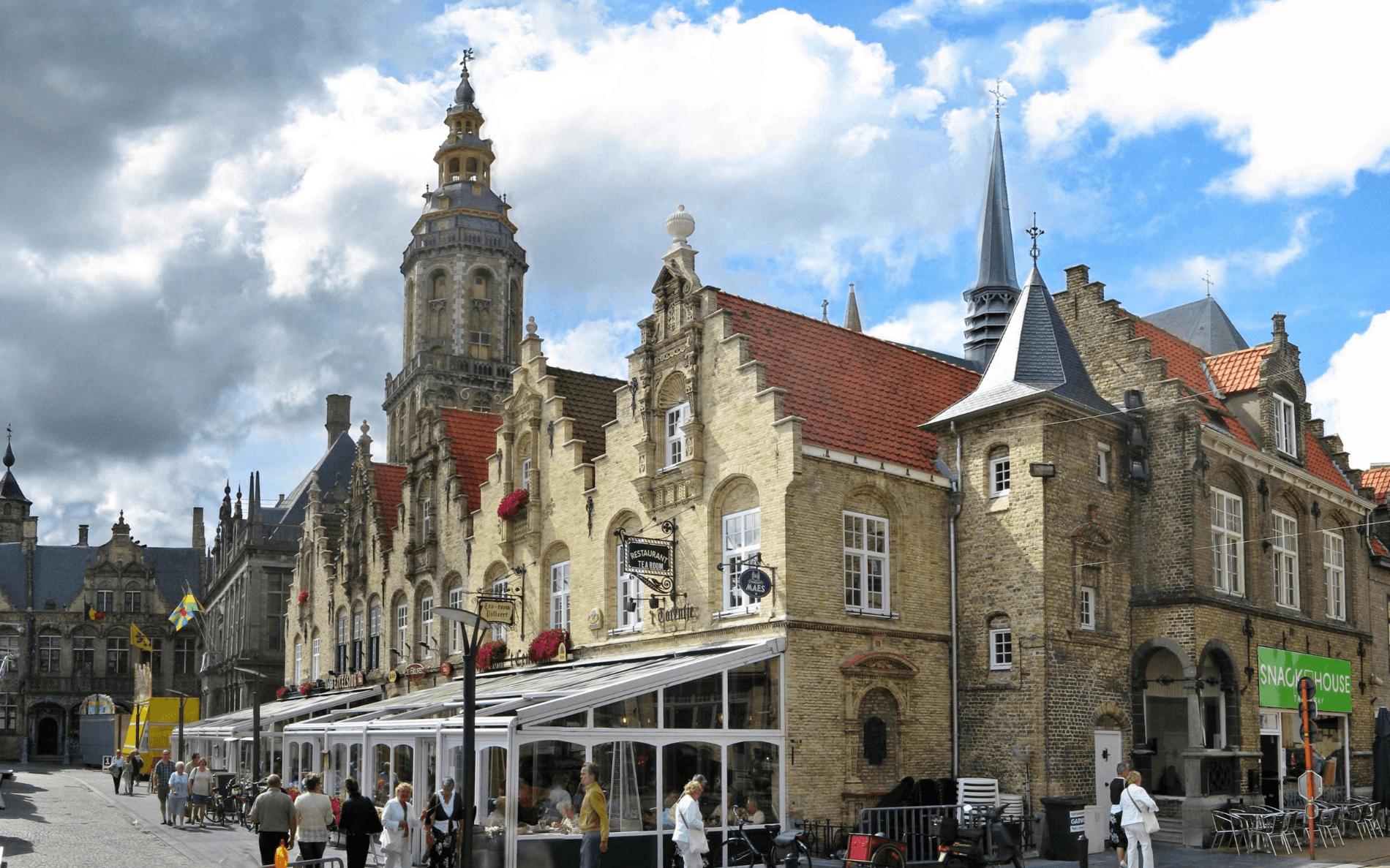 Fietsvakantie in Veurne - België