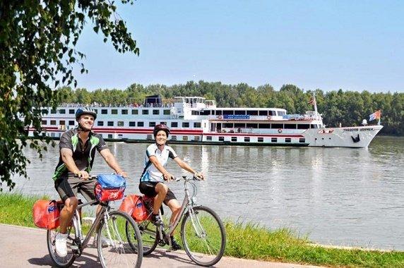 schip op Donau