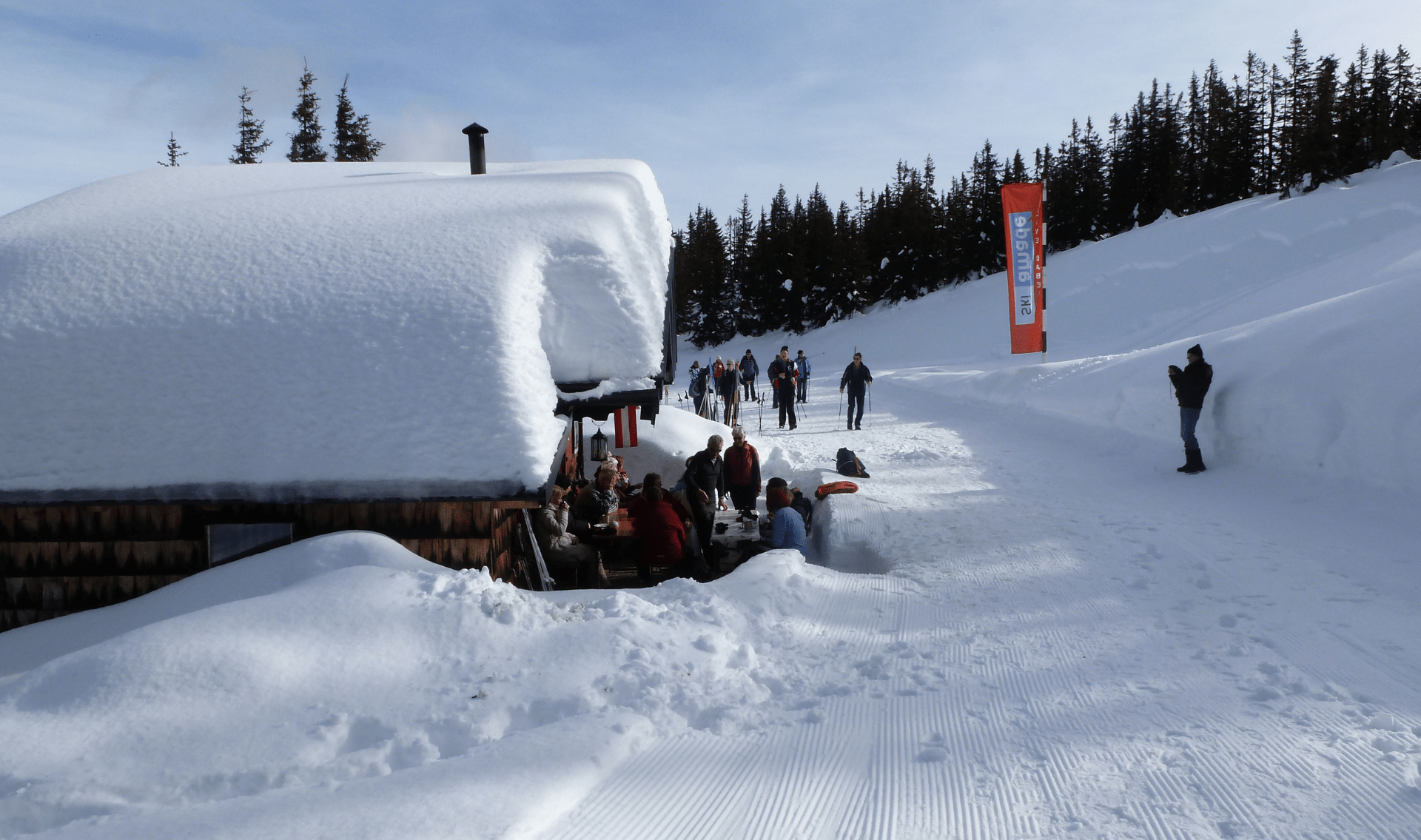 Wintervakantie Abtenau