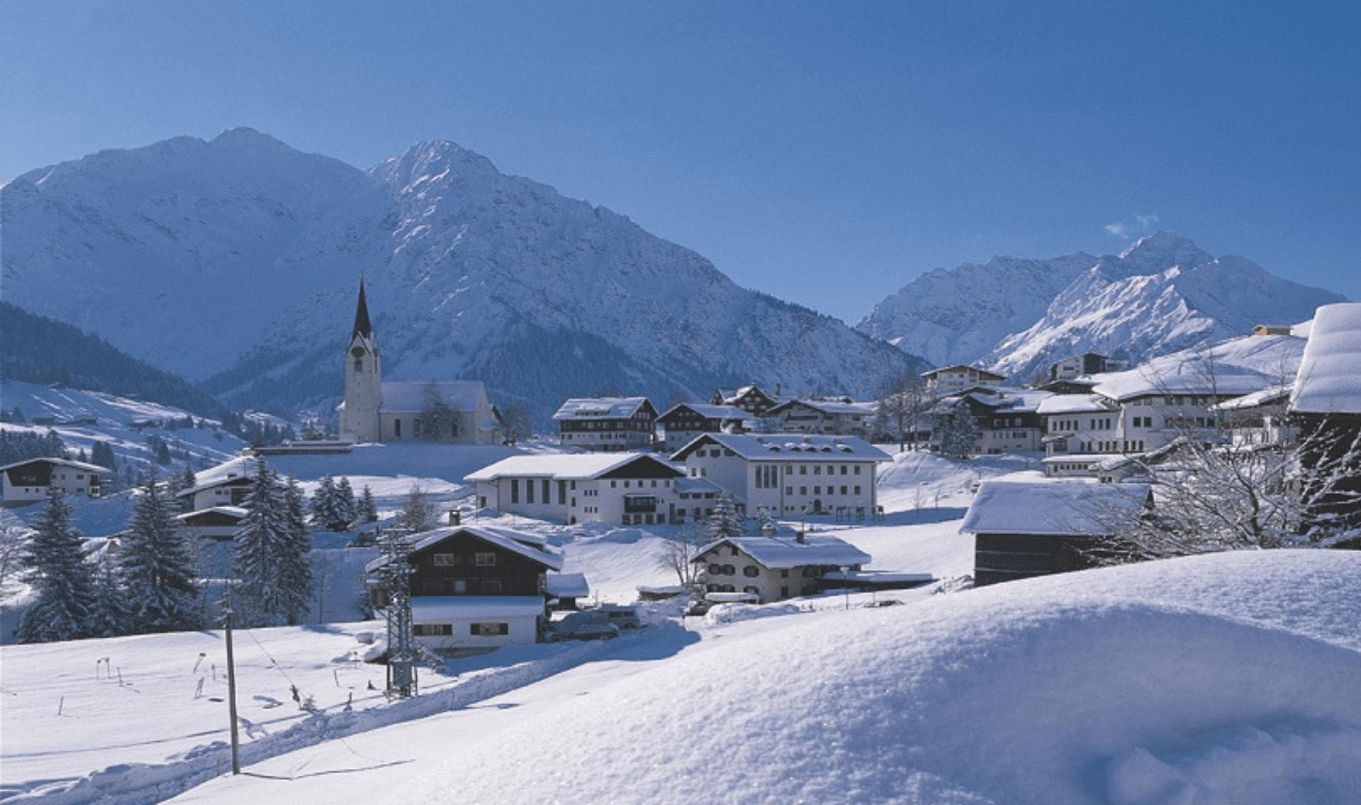 Wintervakantie Mittelberg