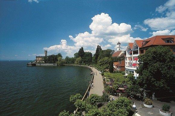Promenade langs de Bodensee