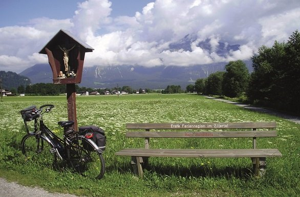 Fietsen door het Zillertal en langs de Inn en de Lech tijdens de fietsvakantie Tirol