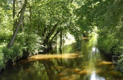 Münsterland riviertje de Dinkel