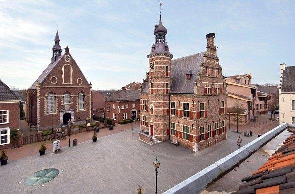 Pieterpad Marktplein van Gennep
